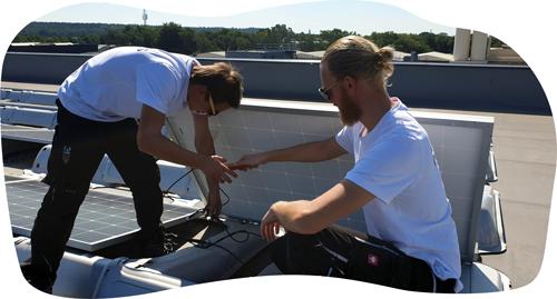 Zonnepanelen, juiste manier van installeren door Solar Vikings